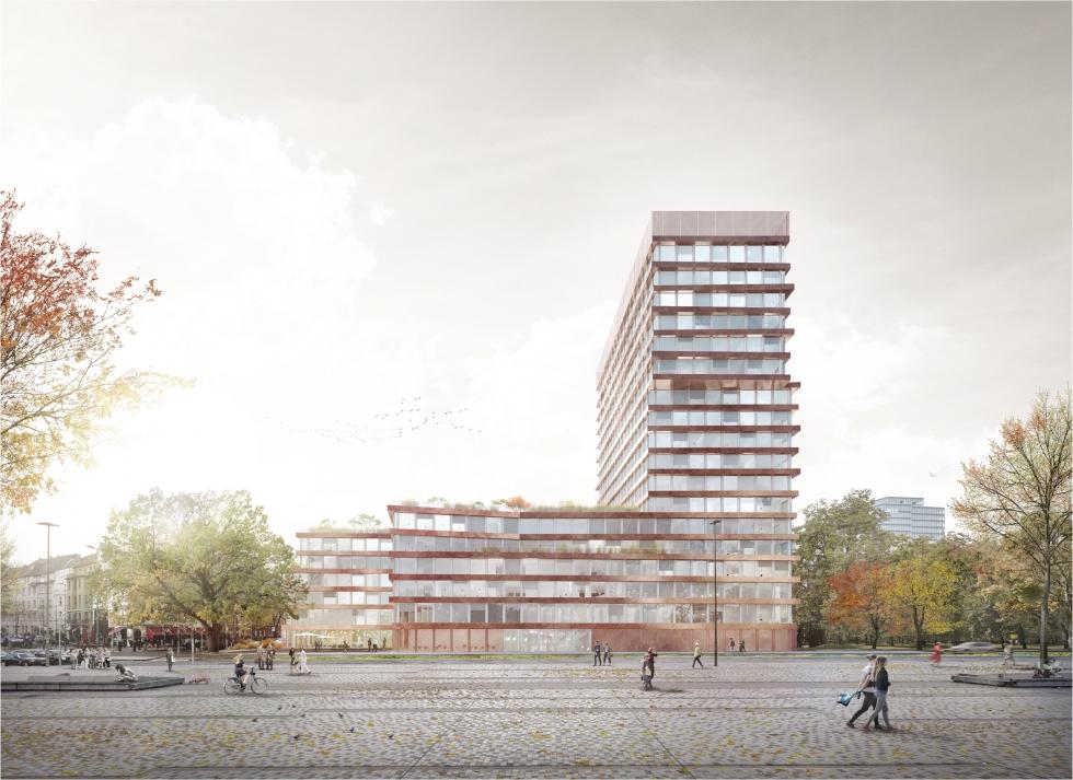 Neubau des LVR-Hauses, Köln