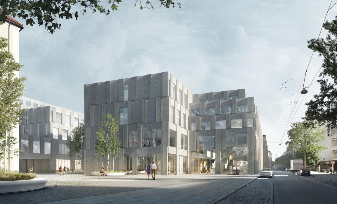 Neubau Geowissenschaften, München, 2.Phase