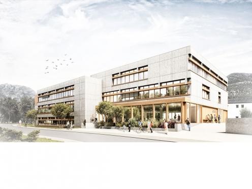 Berufsschulzentrum, Garmisch-Partenkirchen, 1.Preis