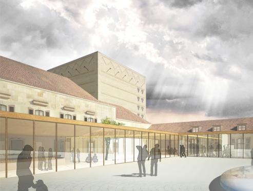 Stadthalle, Bayreuth, 1.Preis