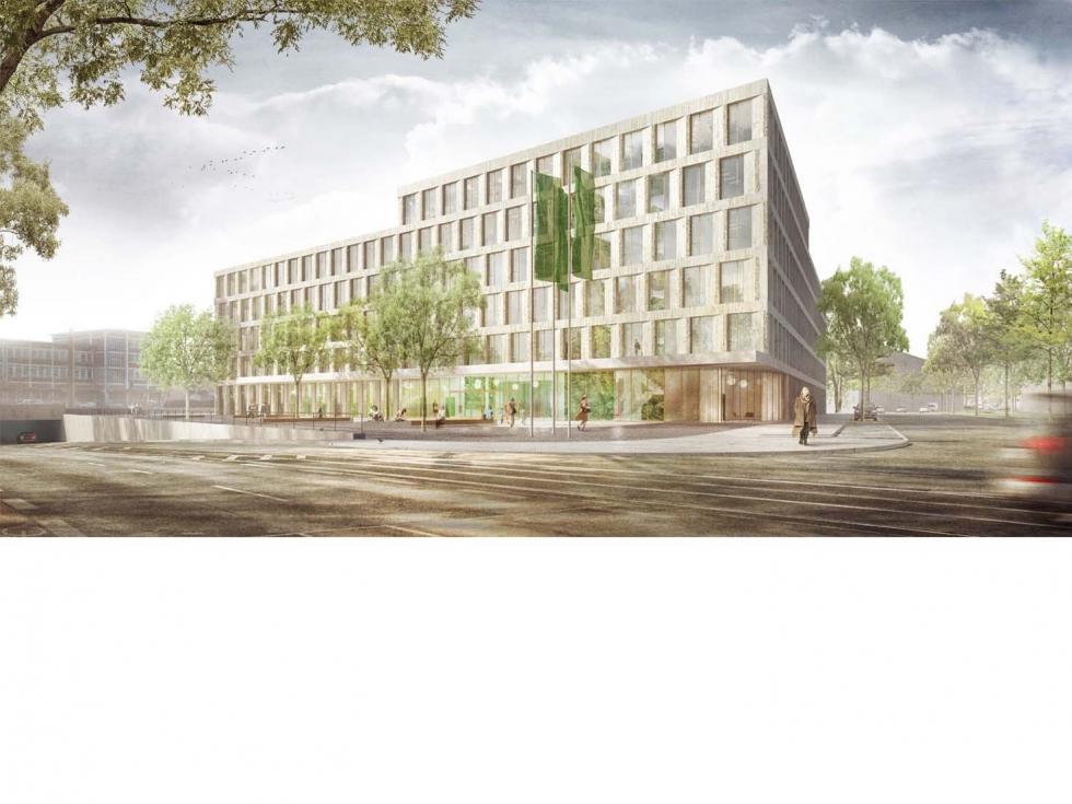 Headquarter Am Kohlenhof, Nürnberg, 2. Platz