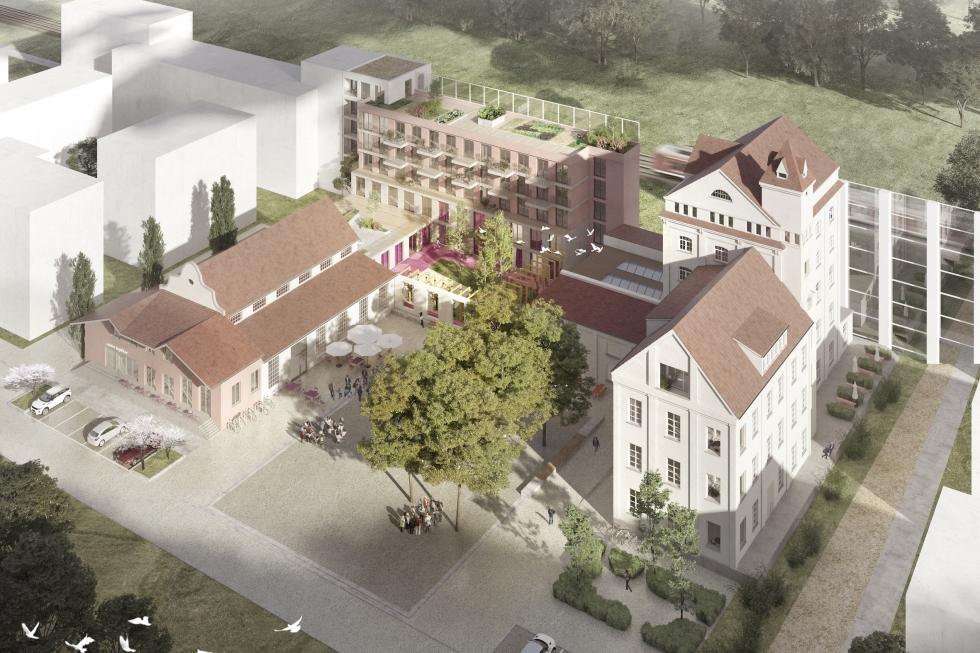 Baugebiet MI Diamalt Gelände, München-Allach, 2. Preis