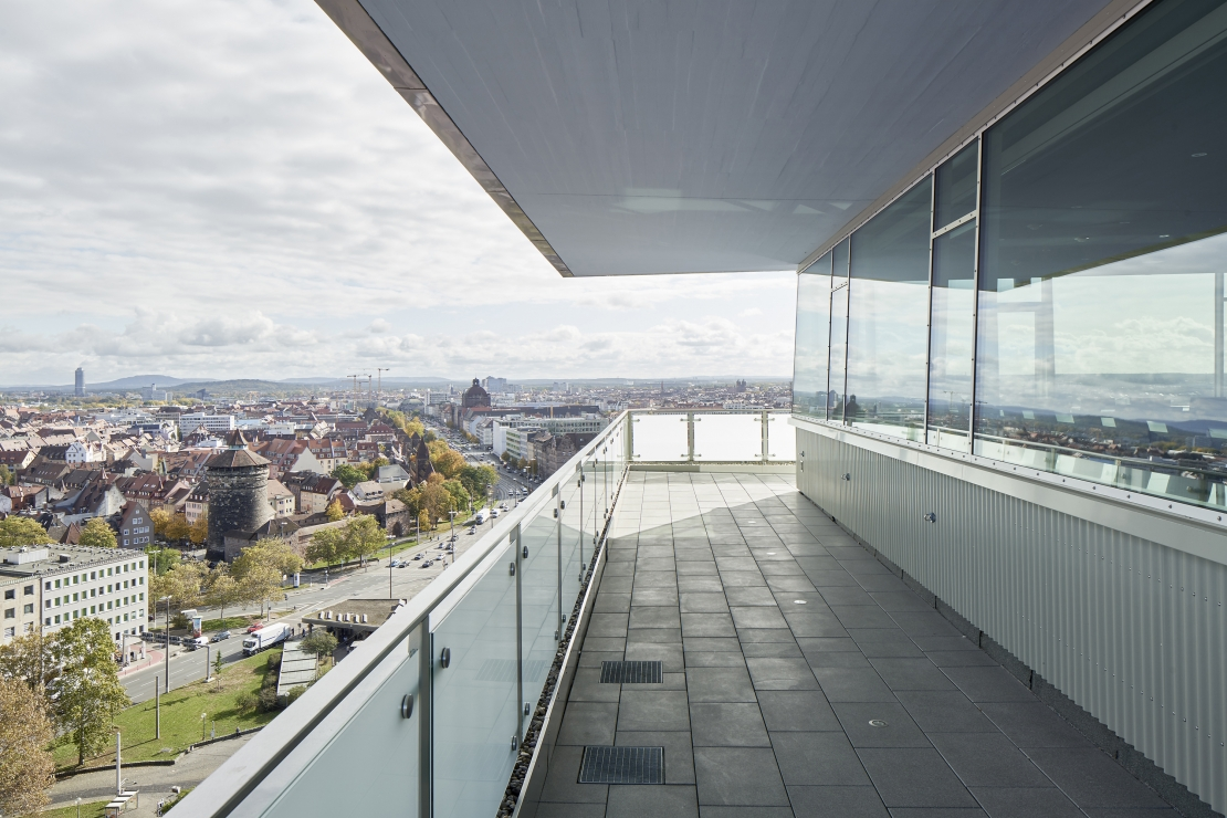 Sanierung des Hochhauses am Plärrer, Nürnberg